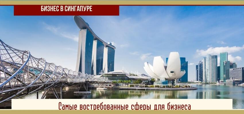 самы востребованные сферы бизнеса в Сингапуре