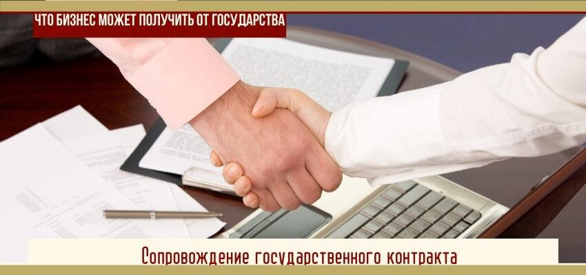 Сопровождение государственного контракта